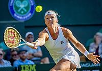 London, England, 2 nd July, 2019, Tennis,  Wimbledon,  Kiki Bertens (NED) <br /> Photo: Henk Koster/tennisimages.com