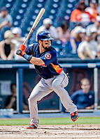 27 February 2019: Houston Astros catcher Robinson Chirinos in pre-season action against the Washington Nationals at the Ballpark of the Palm Beaches in West Palm Beach, Florida. The Nationals defeated the Astros 14-8 in their Spring Training Grapefruit League matchup. Mandatory Credit: Ed Wolfstein Photo *** RAW (NEF) Image File Available ***