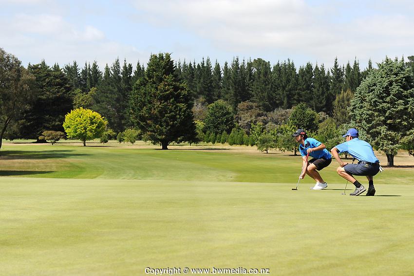 2019 New Zealand Men's Interprovincials, Hastings Golf Club, Hawke's Bay, New Zealand, Tuesday 26th November, 2019. Photo: Kerry Marshall/www.bwmedia.co.nz