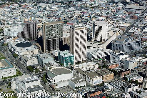aerial photograph Civic Center San Francisco, California