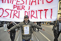 """- Milan, demonstration of gypsies of Sinti ethnic group (Italian citizens) against the new set of laws about security,  considered racist<br /> <br /> - Milano, manifestazione degli zingari di etnia Sinti (cittadini italiani) contro  la nuova legge """"pacchetto sicurezza"""", considerata razzista"""