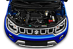 Car Stock 2020 Suzuki Ignis GL+ 5 Door Hatchback Engine  high angle detail view
