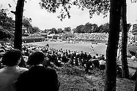 1986, Hilversum, Dutch Open, Melkhuisje, Overzicht centercourt
