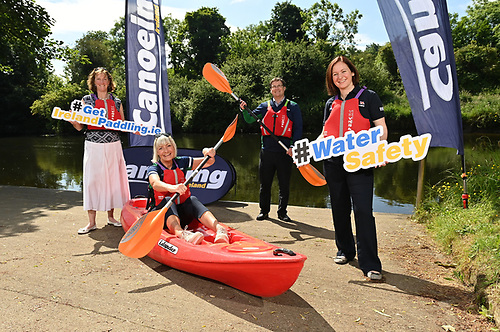 Present at the recent launch of the new website were Sport Ireland director of participation & ethics Dr Una May, Canoeing Ireland chief executive officer Moira Ashton, Canoeing Ireland president Brian Ogilvie, and RNLI water safety delivery support officer Lisa Hollingum. The new safety campaign is also being supported by Water Safety Ireland.