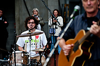 Saturday 17 August 2013<br /> <br /> Pictured:Rag Foundation band<br /> <br /> Re: Barclays Premier League Swansea City v Manchester United at the Liberty Stadium, Swansea, Wales