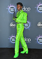 LOS ANGELES, USA. November 25, 2019: Lil Nas X at the 2019 American Music Awards at the Microsoft Theatre LA Live.<br /> Picture: Paul Smith/Featureflash