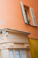 Europe/France/Provence-Alpes-Côte d'Azur/06/Alpes-Maritimes/Nice:  détail boutique du  Vieux Nice