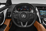 Steering wheel view of a 2018 Acura NSX Exclusive 2 Door Coupe
