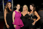 """From left: Dawn Isabell, Mandie Peel, Lisa Callas and Jennifer Roebuck at the San Luis Salute """"Space Pirates"""" VIP reception Friday February 24,2017. (Dave Rossman Photo)"""