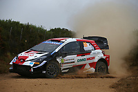 6th June 2021; Olbia, Sardinia, Italy; WRC Rally of Sardegna, final day; Stages SS17-SS20;  Kalle Rovenpera-Toyota Yaris WRC