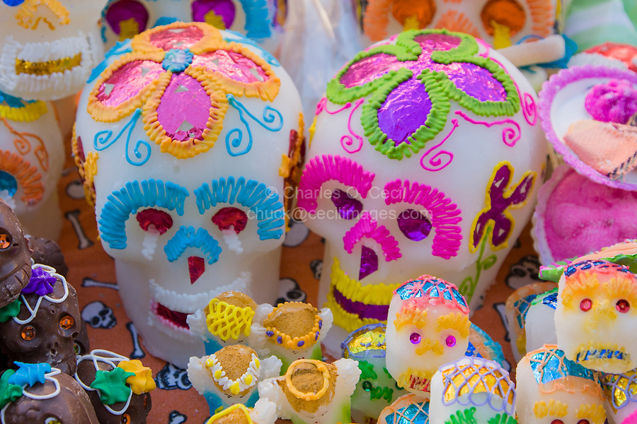 Oaxaca, Mexico, North America.  Day of the Dead Celebrations.