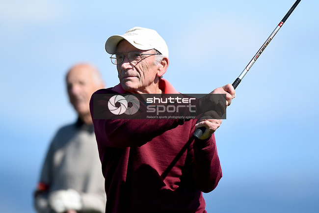 NELSON, NEW ZEALAND - SEPTEMBER 28: 2015 South Island Masters Games - Golf at Nelson Golf Club on September 28, 2015 in Nelson, New Zealand. (Photo by: Chris Symes Shuttersport Limited)