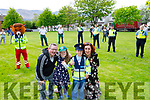 Birthday drive by salute for twins Grace and Adam Roche celebrating their 8th birthday in Ashgrove Tralee on Saturday by the Garda,  Tralee Red Cross, Kerry Fire service and the National Ambulance Service.