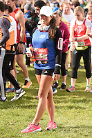 Karen Danczuk<br /> at the start of the 2016 London Marathon, Blackheath, Greenwich London<br /> <br /> <br /> ©Ash Knotek  D3108 24/04/2016
