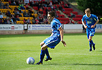 St Johnstone v Man Utd XI....31.07.10  Alan Main Testimonial.Alan Mains eldest son Nicholas scores from the spot to make it 2-2.Picture by Graeme Hart..Copyright Perthshire Picture Agency.Tel: 01738 623350  Mobile: 07990 594431