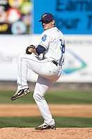 July 11, 2010: Everett AquaSox pitcher Chris Sorce (36) during a Northwest League game against the Eugene Emeralds at Everett Memorial Stadium in Everett, Washington.
