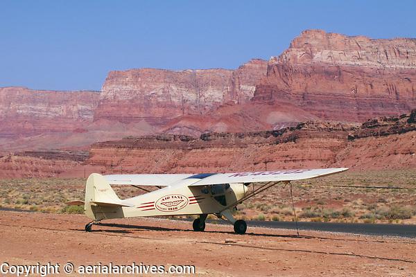 Taylorcraft, BC-12D at Marble Canyon airport, (L41), Marble Canyon, Arizona