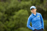 STANFORD, CA - APRIL 25: Emma Spitz at Stanford Golf Course on April 25, 2021 in Stanford, California.