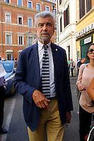 Cesare Damiano<br /> Roma 21-09-2015 Sede del Partito Democratico. Riunione della direzione del PD.<br /> Photo Samantha Zucchi Insidefoto