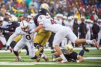 STANFORD, IN-OCTOBER 04, 2014- Stanford Cardinal v Notre Dame.