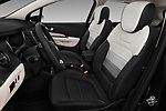Front seat view of 2017 Renault Capture Initiale-Paris 5 Door SUV Front Seat  car photos