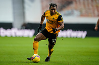 7th February 2021; Molineux Stadium, Wolverhampton, West Midlands, England; English Premier League Football, Wolverhampton Wanderers versus Leicester City; Adama Traoré of Wolverhampton Wanderers sets off on a strong run