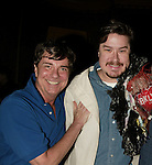 Gary Beach with Gypsy Robe Winner Mervin Foard.Attending the Opening Night Gypsy Robe Ceremony for LA CAGE aux FOLLES at the Marquis Theatre in New York City..December 9, 2004.© Walter McBride / Retna Ltd.