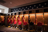 Orlando, FL - Friday Oct. 06, 2017: USMNT Locker Room during a 2018 FIFA World Cup Qualifier between the men's national teams of the United States (USA) and Panama (PAN) at Orlando City Stadium.