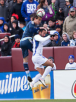 Landover, MD - March 28, 2015: Argentina defeated El Salvador 2-0 during their international friendly at FedEx Field.
