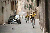 Neilson Powless(USA/Jumbo-Visma)<br /> <br /> Team Jumbo-Visma race reconnaissance 1 day prior to the 13th Strade Bianche 2019 (1.UWT)<br /> One day race from Siena to Siena (184km)<br /> <br /> ©kramon