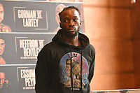 Denzel Bentley during a Press Conference at the Town Hall & Apartments, Bethnal Green on 9th September 2020