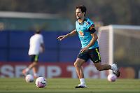 7th October 2020; Granja Comary, Teresopolis, Rio de Janeiro, Brazil; Qatar 2022 qualifiers; Rodrigo Caio of Brazil during training session