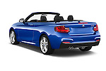 Car pictures of rear three quarter view of 2017 BMW 2-Series M230i 2 Door Convertible Angular Rear