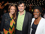 From left: Natalie Bomke, Philippe Schmit and Shannon Dillon at the Hotel Zaza's annual Spring Party Wednesday April 24, 2013.(Dave Rossman photo)