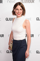 Jessica Raine<br /> arrives for the Glamour Women of the Year Awards 2016, Berkley Square, London.<br /> <br /> <br /> ©Ash Knotek  D3130  07/06/2016