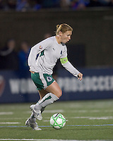 St Louis Athletica midfielder Lori Chalupny (17). The Boston Breakers defeated Saint Louis Athletica, 2-0, at Harvard Stadium on April 11, 2009.