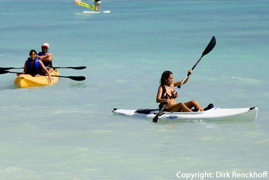 Dominikanische Republik, am Strand des Punta Cana Beach Resort und Club