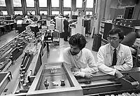- Genova, tecnici al lavoro nella industria elettronica Elsag (aprile 1986)<br /> <br /> - Genoa, technicians working in the electronics industry Elsag (April 1986)