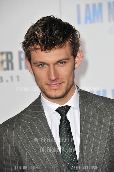"""British actor Alex Pettyfer at the world premiere of his new movie """"I Am Number Four"""" at the Mann Village Theatre, Westwood..February 9, 2011  Los Angeles, CA.Picture: Paul Smith / Featureflash"""