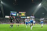 New Zealand vs Scotland during the Cathay Pacific / HSBC Hong Kong Sevens at the Hong Kong Stadium on 28 March 2014 in Hong Kong, China. Photo by Victor Fraile / Power Sport Images