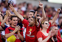 Manchester United Fans. Manchester United defeated Philadelphia Union, 1-0.