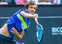 Den Bosch, Netherlands, 13 June, 2017, Tennis, Ricoh Open, Danill Medvedev (RUS)<br /> Photo: Henk Koster/tennisimages.com