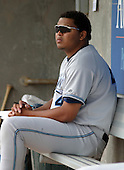August 31, 2003:  Pitcher Humberto Sanchez of the West Michigan White Caps, Class-A affiliate of the Detroit Tigers, during a Midwest League game at Oldsmobile Park in Lansing, MI.  Photo by:  Mike Janes/Four Seam Images