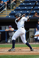 Staten Island Yankees infielder Jose Rosario (31) during game against the Hudson Valley Renegades at Richmond County Bank Ballpark at St.George on June 24, 2012 in Staten Island, NY.  Staten Island defeated Hudson Valley 9-1.  Tomasso DeRosa/Four Seam Images