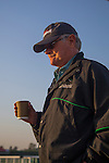 MEYDAN,DUBAI-MARCH 25: Art Sherman,the trainer of California Chrome, at Meydan Racecourse on March 25,2016 in Meydan,Dubai (Photo by Kaz Ishida)