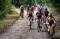 Inaugural Paris-Roubaix Femmes 2021 (1.WWT)<br /> One day race from Denain to Roubaix (FRA)(116.4km)<br /> <br /> ©kramon
