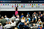 LOUISVILLE, KY - MAY 01: Mendelssohn is given the 14 post during the Kentucky Derby Post Draw at Churchill Downs on May 1, 2018 in Louisville, Kentucky. (Photo by Scott Serio/Eclipse Sportswire/Getty Images)