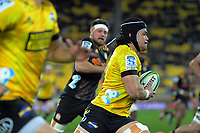 Hurricanes Du'Plessis Kirifi in action during the Super Rugby Aotearoa match between the Hurricanes and Chiefs at Sky Stadium in Wellington, New Zealand on Saturday, 8 August 2020. Photo: Dave Lintott / lintottphoto.co.nz