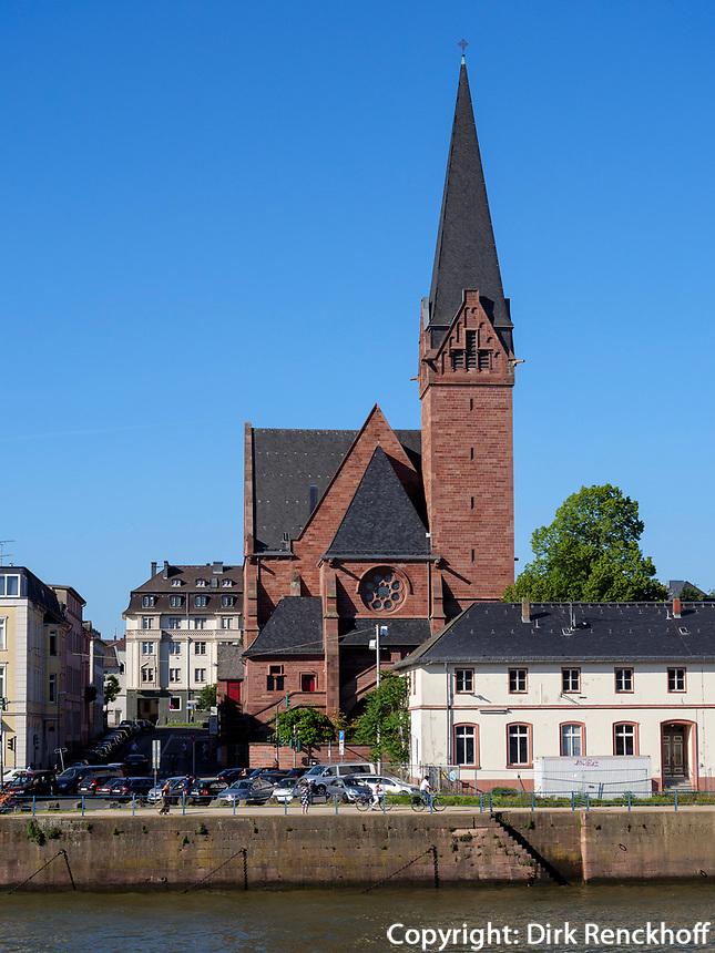 Oranier-Gedächtniskirche in Biebrich, Wiesbaden, Hessen, Deutschland, Europa<br /> Orange Memorial Church in Biebrich, Wiesbaden, Hesse, Germany, Europe