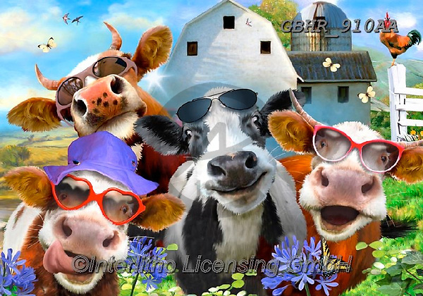Howard, SELFIES, paintings+++++,GBHR910AA,#selfies#, EVERYDAY ,cow,cows, ,puzzle,puzzles